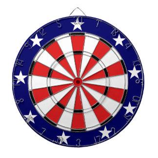 USA Flag colours Dartboard