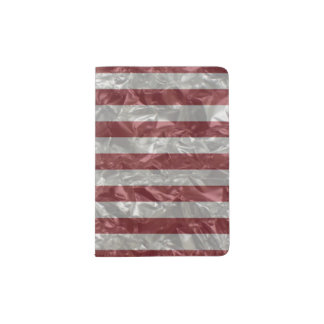 USA Flag - Crinkled Passport Holder