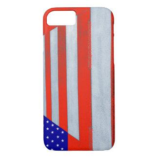 USA Flag Crosswalk iPhone 7 Phone Case