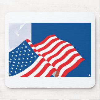 USA FLAG DESIGN MOUSE PAD