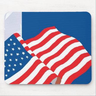 USA FLAG DESIGN MOUSEPAD