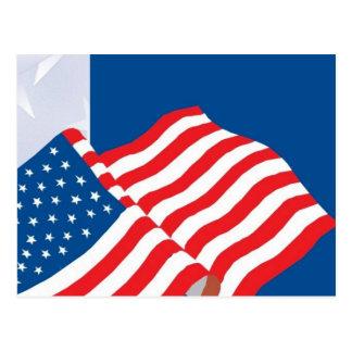 USA FLAG DESIGN POST CARDS