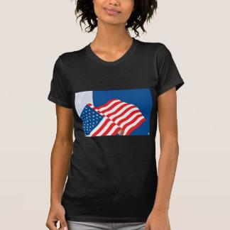 USA FLAG DESIGN T-SHIRT