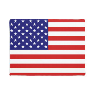 USA Flag Door Mat