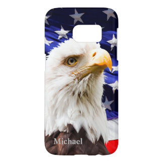 USA Flag Eagle Samsung Galaxy S7 Case