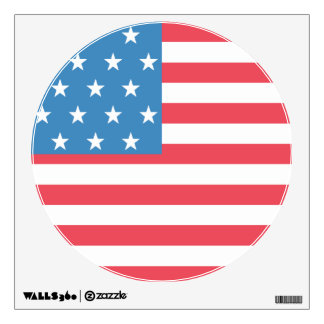 USA Flag Emoji Inspired Wall Sticker