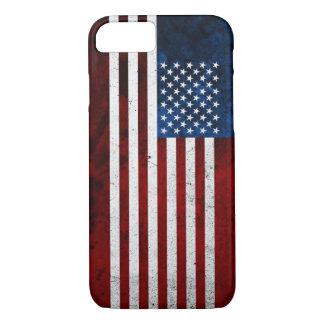 USA FLAG GRUNGE iPhone 7 CASE