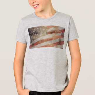 USA Flag: Kids' American Apparel T-Shirt