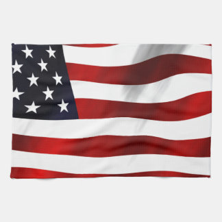 USA Flag Kitchen Towel