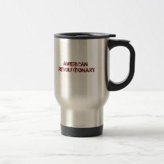 USA-Flag-Large, AMERICAN REVOLUTIONARY 15 Oz Stainless Steel Travel Mug