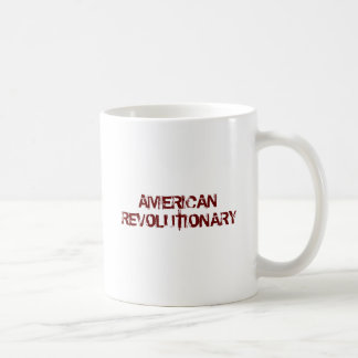 USA-Flag-Large, AMERICAN REVOLUTIONARY Classic White Coffee Mug