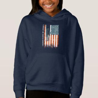 USA Flag Liberty, America, Distressed Art
