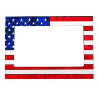 USA FLAG Magnetic Frame