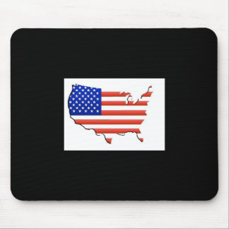 USA FLAG MOUSE PAD
