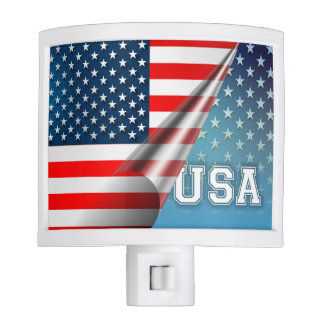 USA Flag Nite Light