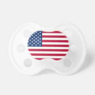 USA Flag Baby Pacifiers
