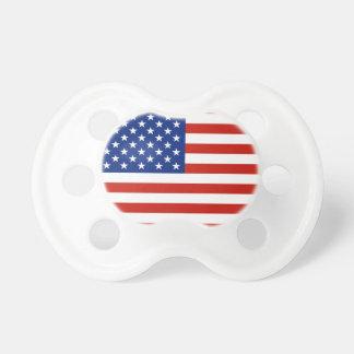 USA flag Pacifiers