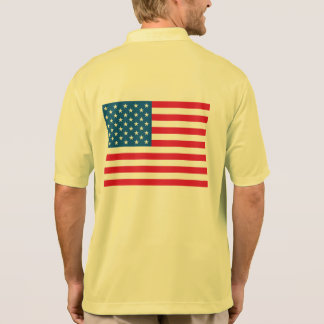 USA Flag Polo Shirt