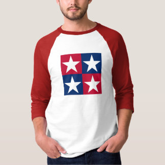 USA Flag Pop Art Stars T-Shirt