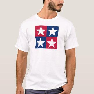 USA Flag Pop Art Stars T-Shirt