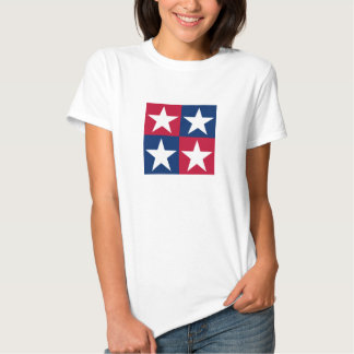 USA Flag Pop Art Stars Tee Shirts