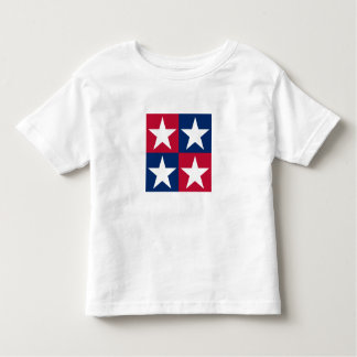 USA Flag Pop Art Stars Toddler T-shirt