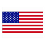 USA Flag Postcards