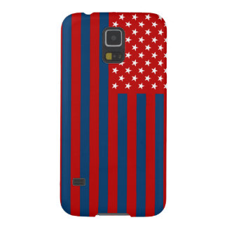 USA Flag - Red Stencil Galaxy S5 Case