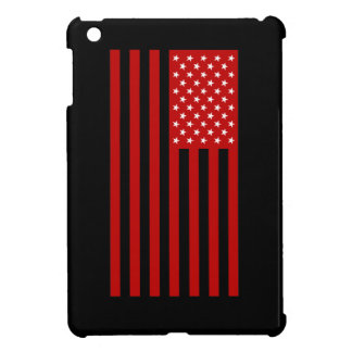 USA Flag - Red Stencil iPad Mini Cover