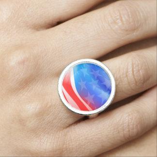 USA flag Ring