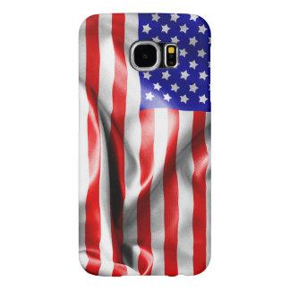 USA Flag Samsung Galaxy S6 Cases