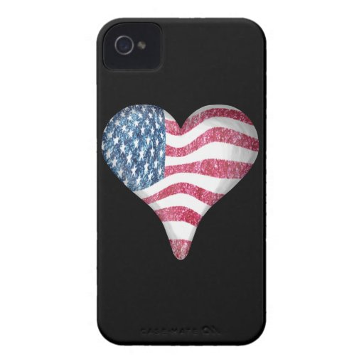 USA Flag Sketch Painting Blackberry Bold Cases
