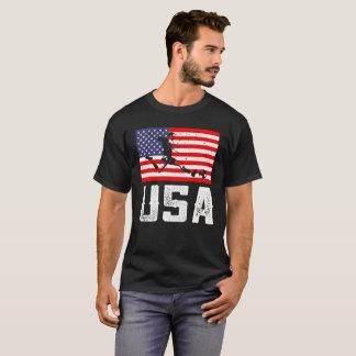 USA flag soccer T-Shirt