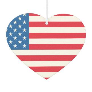 USA Flag stars and stripes Air Freshener