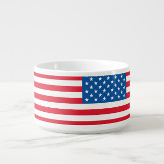 USA Flag stars and stripes Bowl