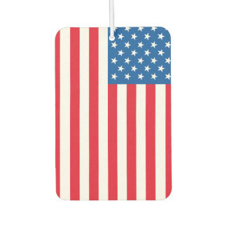 USA Flag stars and stripes Car Air Freshener