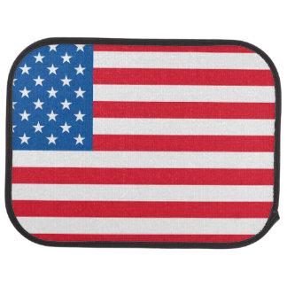USA Flag stars and stripes Car Mat