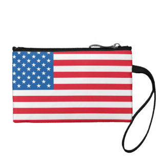 USA Flag stars and stripes Coin Purses