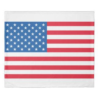 USA Flag stars and stripes Duvet Cover
