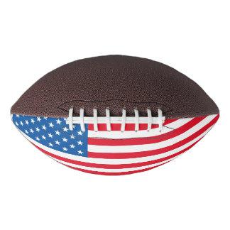 USA Flag stars and stripes Football