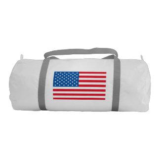 USA Flag stars and stripes Gym Bag