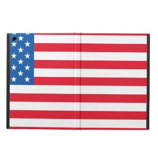 USA Flag stars and stripes iPad Air Cover