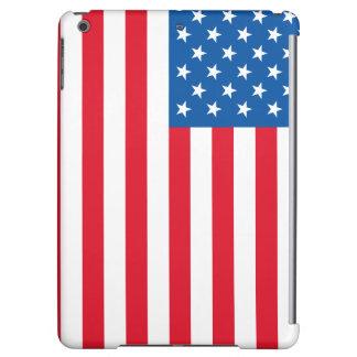 USA Flag stars and stripes iPad Air Covers