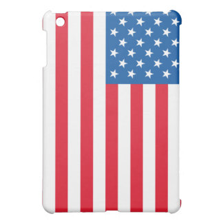 USA Flag stars and stripes iPad Mini Cases