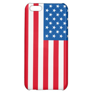 USA Flag stars and stripes iPhone 5C Cover
