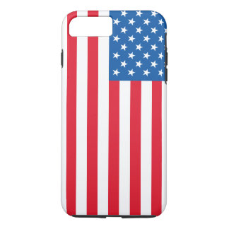 USA Flag stars and stripes iPhone 8 Plus/7 Plus Case