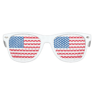 USA Flag stars and stripes Kids Sunglasses