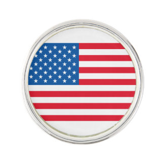 USA Flag stars and stripes Lapel Pin
