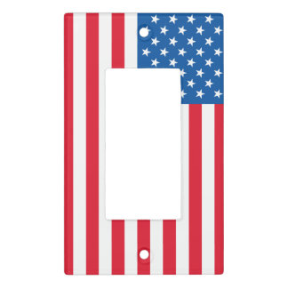 USA Flag stars and stripes Light Switch Cover