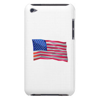 USA Flag Stars and Stripes Low Polygon Barely There iPod Cases